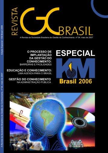 A Revista da Sociedade Brasileira de Gestão do ... - Wiki