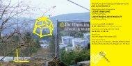 Einladungskarte SCHEINWERFER II toprint_pdf - Institut für Kunst ...