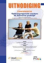 Brochure Almere - Deelnameregistratie