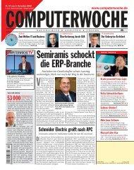 Semiramis schockt die ERP‡Branche