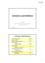 (Microsoft PowerPoint - Amiodaron und Schilddr\374se 23092009 ...
