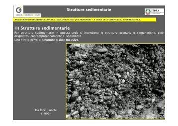 H) Strutture sedimentarie - Docenti.unina.it