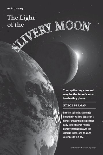 The Light of the Slivery Moon (PDF) - Old Farmers Almanac