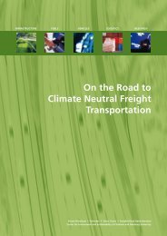 On the Road to Climate Neutral Freight Transportation - KNEG