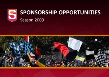 SPONSORSHIP OPPORTUNITIES - sanfl