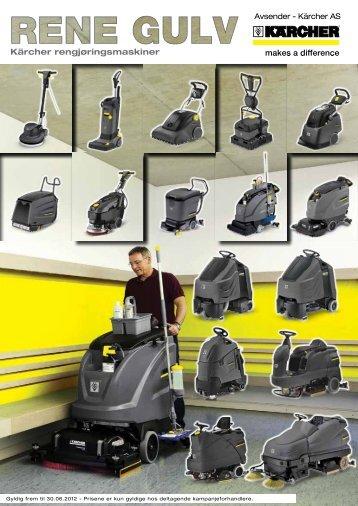Kärcher rengjøringsmaskiner - kvam agentur as