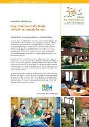 Urlaub im Umgebindehaus - Oberlausitz