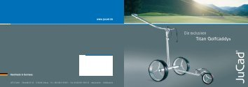 JuCad Titan - Golf rund um Düsseldorf