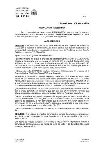 PS-00389-2014_Resolucion-de-fecha-18-11-2014_Art-ii-culo-6.1-LOPD