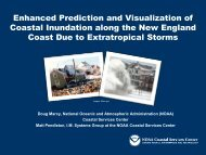 Enhanced Prediction and Visualization of ... - GeoTools - NOAA