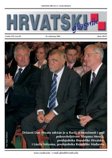 48. broj 26. studenoga 2009.