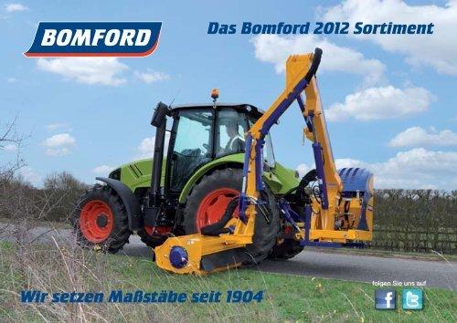 Das Bomford 2012 Sortiment Wir setzen Maßstäbe ... - Bomford Turner