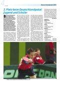 6 Medaillen für Niedersachsen TSV Schwalbe Tündern in ... - TTVN - Page 6