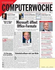 Microsoft öffnet Office-Formate
