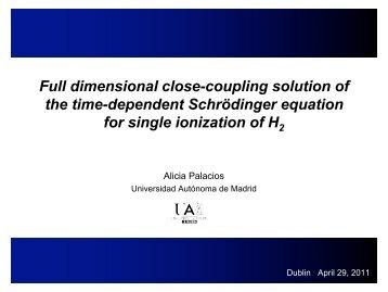 Alicia Palacios - School of Physical Sciences