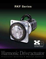 RKF Series Actuator PDF - Harmonic Drive LLC