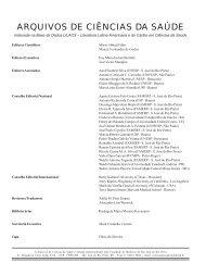 Editorial Prof. Dr. Nelson Iguimar Valerio - Revista Arquivos de ...