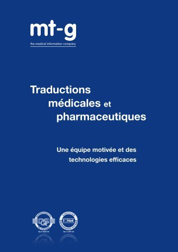 Téléchargement brochure mt-g (PDF, 660 KB) - Medical Translation ...