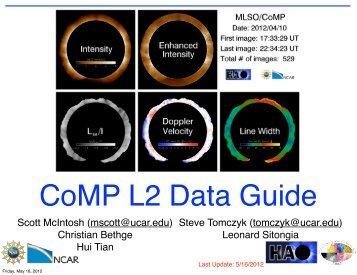 CoMP L2 Data Guide