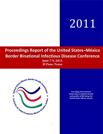 Proceedings Report of the United States–México Border Binational ...