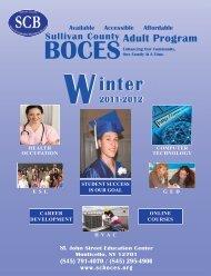 Adult Program - Sullivan County BOCES