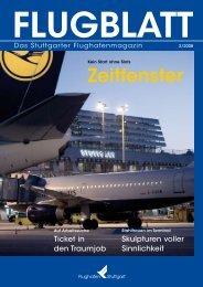 Ausgabe 2/08 - Flughafen Stuttgart