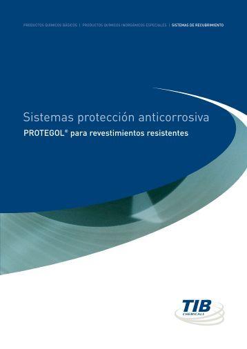 Sistemas protección anticorrosiva - TIB Chemicals AG