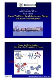 Role of EpCAM in the Detection and Biology of Cancer ...