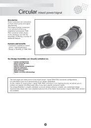 Download Souriau Mixed Power / Signal Circular Connectors PDF