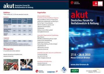 Deutsches Forum für Notfallmedizin & Rettung - Notarzt-dortmund