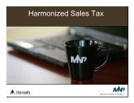 Harmonized Sales Tax