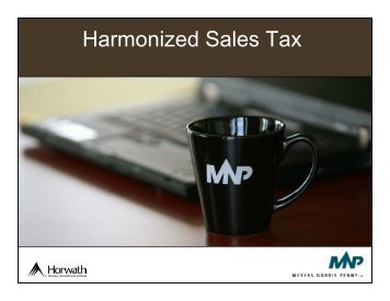 Harmonized Sales Tax