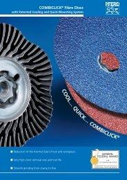 COMBICLICK Fibre Discs - PFERD
