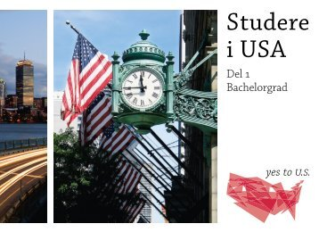 Studere i USA Del 1: Bachelorgrad - Embassy of the United States ...