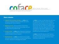 Information sur la COFACE en FRANçAIS