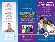 Tutorcom Military Brochure