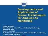 Developments and Applications of Sensor Technologies - AirMonTech