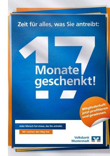Mitgliedschaft: jetzt profitieren und gewinnen. - VR-Bank Passau eG