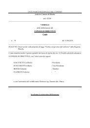 Leggi Delibera n. 74 - Il Parco del Conero