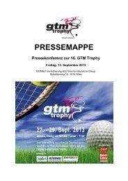 PRESSEMAPPE - GTM Trophy