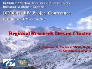 Regional research cluster - BEO
