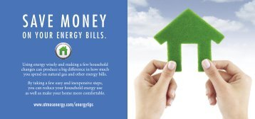 SAVE MONEY - Atmos Energy