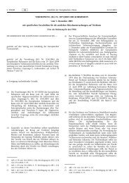 VERORDNUNG (EG) Nr. 2075/2005 DER KOMMISSION ... - EUR-Lex