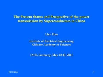 Presentation - IASS Potsdam