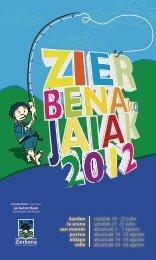 folleto informativo - Zierbena