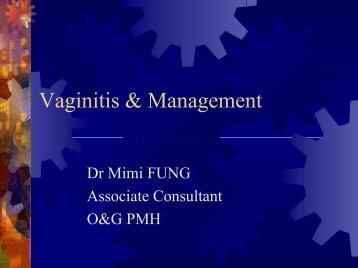 Vaginitis & Management - Hkmacme.org