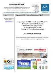 QuaderniNEWS n. 7-2008 - Ordine degli Architetti della Provincia di ...