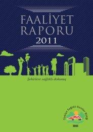 Şehirlere sağlıklı dokunuş - Türkiye Sağlıklı Kentler Birliği