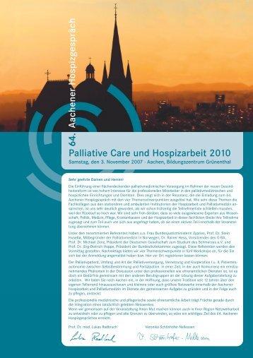 Programm - Servicestelle Hospiz