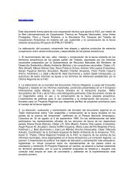 Introducción Este documento forma parte de una ... - OTCA